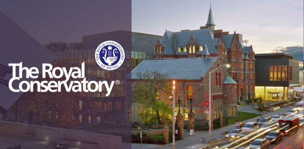 Royal Conservatory of Music with logo overlay