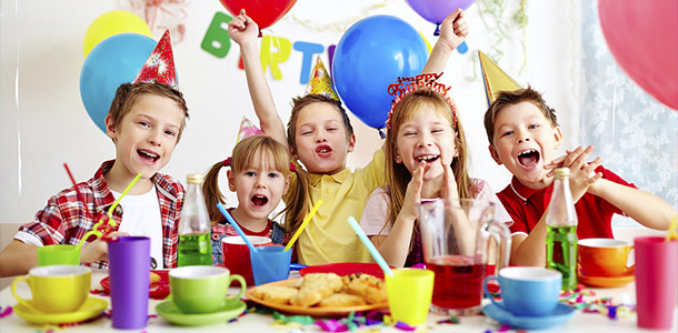 Kids birthday party celebration