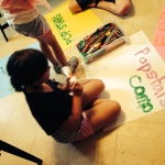 Summer camp arts and crafts