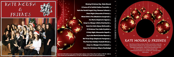 Moura Music Studios Christmas CD
